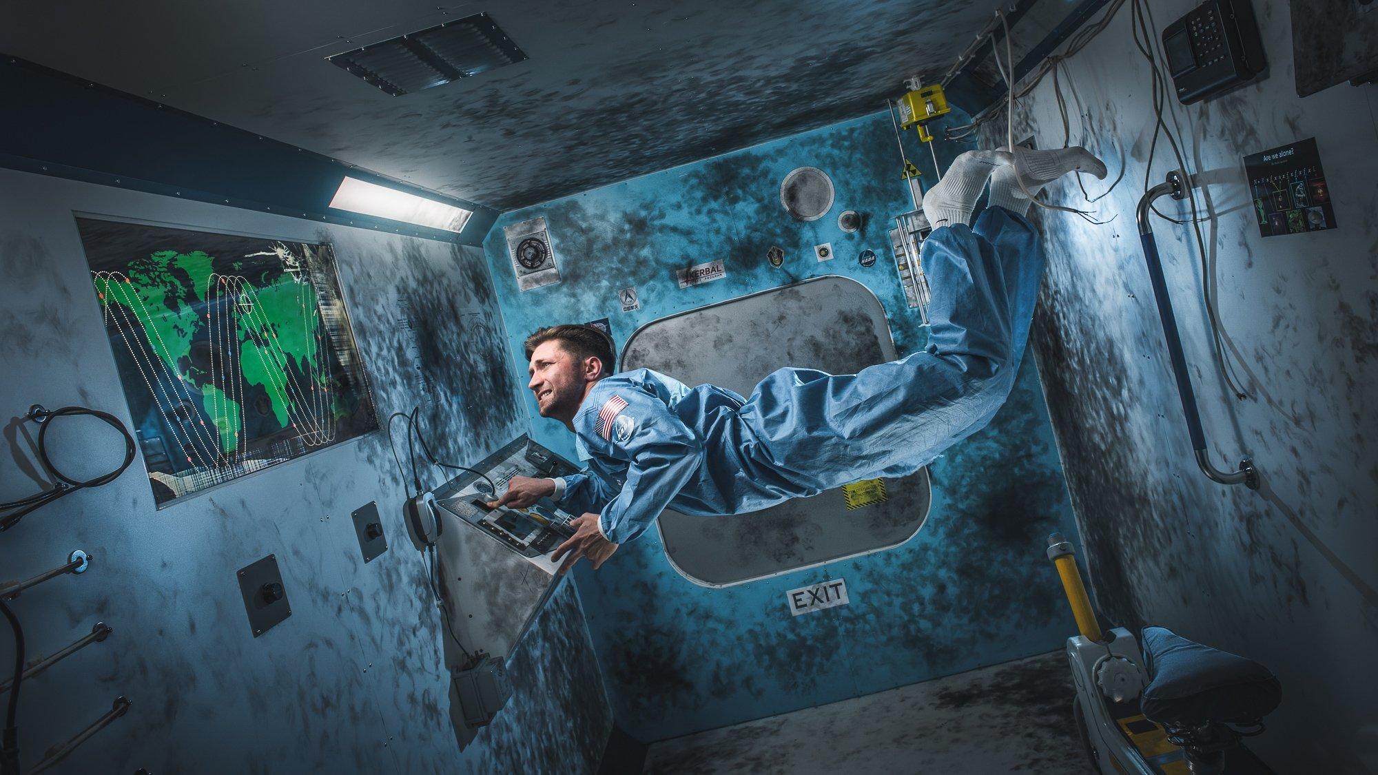Фотография квеста «Gravity»