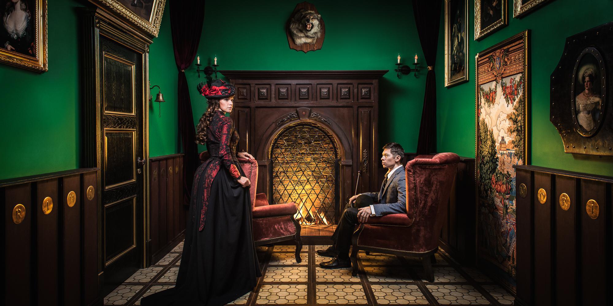 Фотография квеста «Sherlock vs Moriarty»