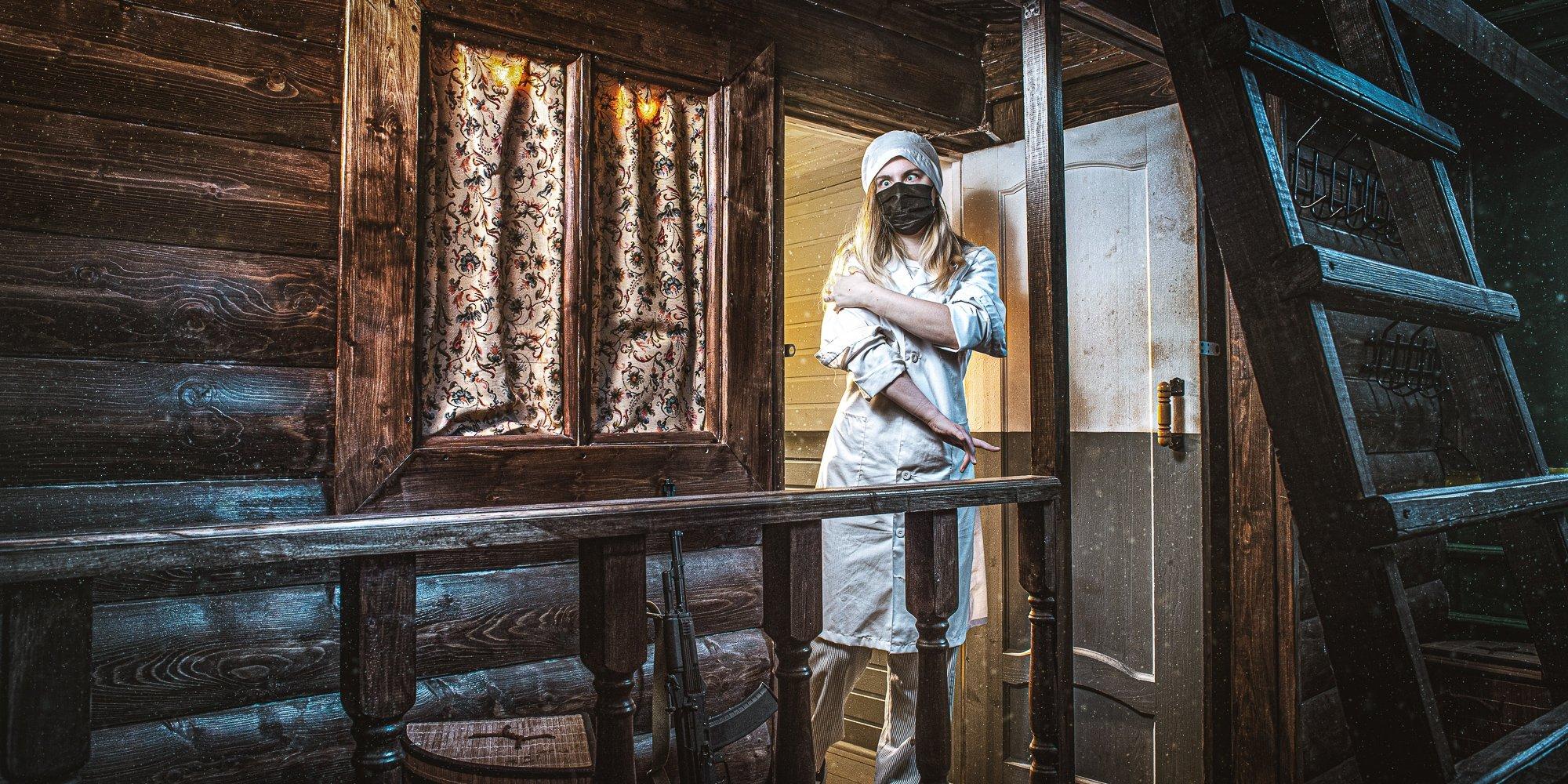 Квест с актерами в Москве Точка невозврата