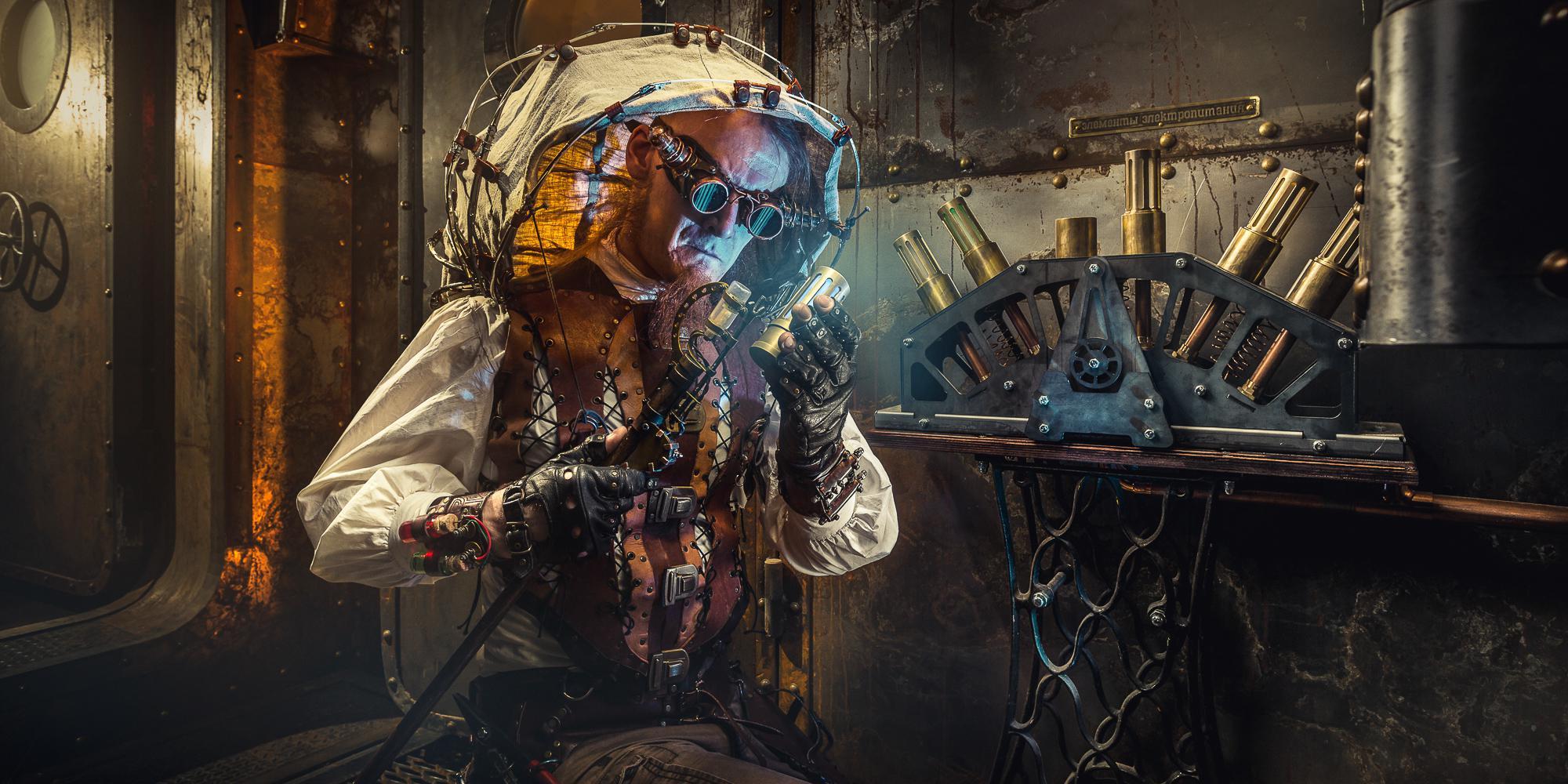 Фотография квеста «Steampunk: The Airship»