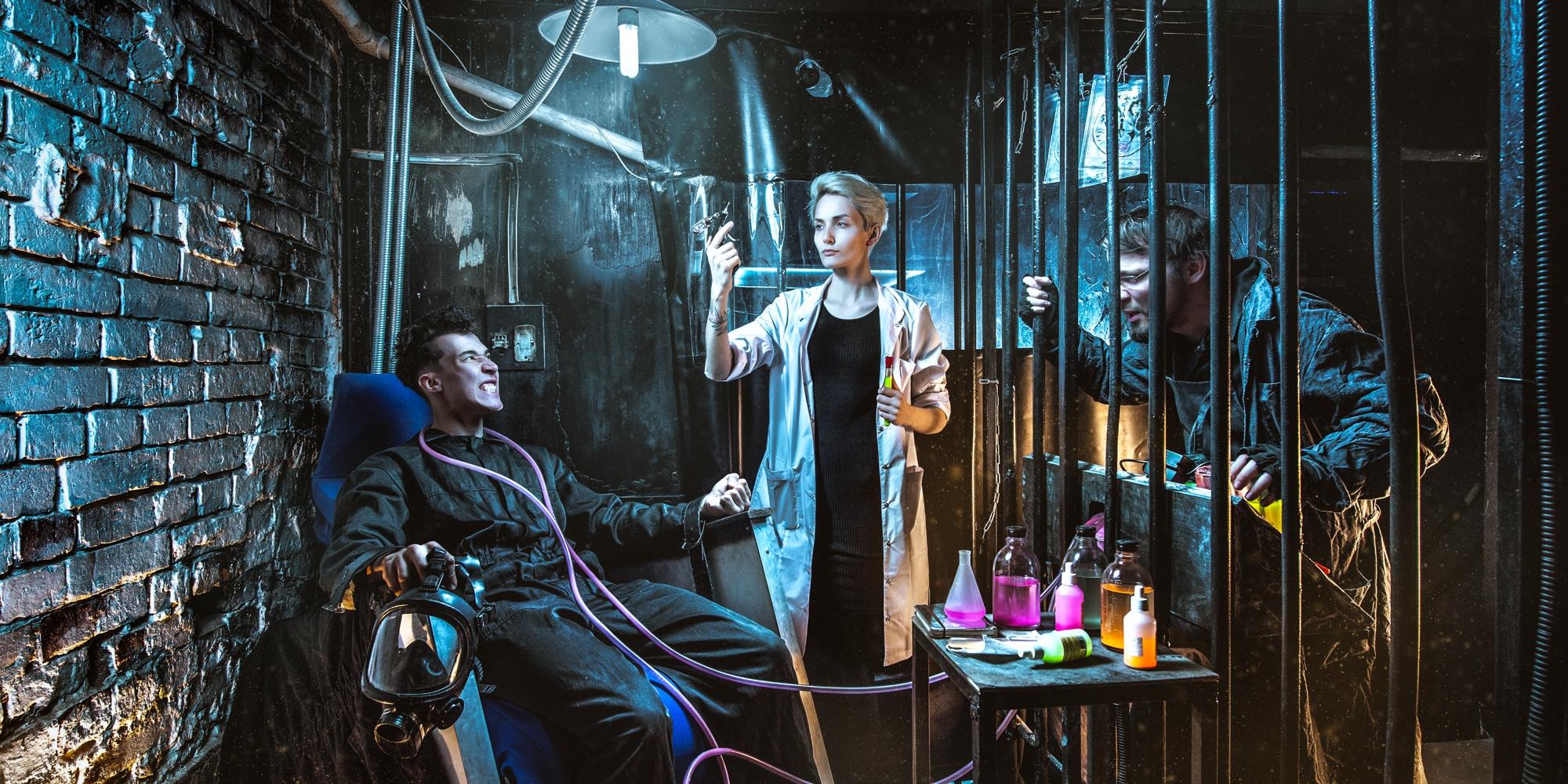 Квест с актерами в Москве Дивергент. Этап: фильтрация
