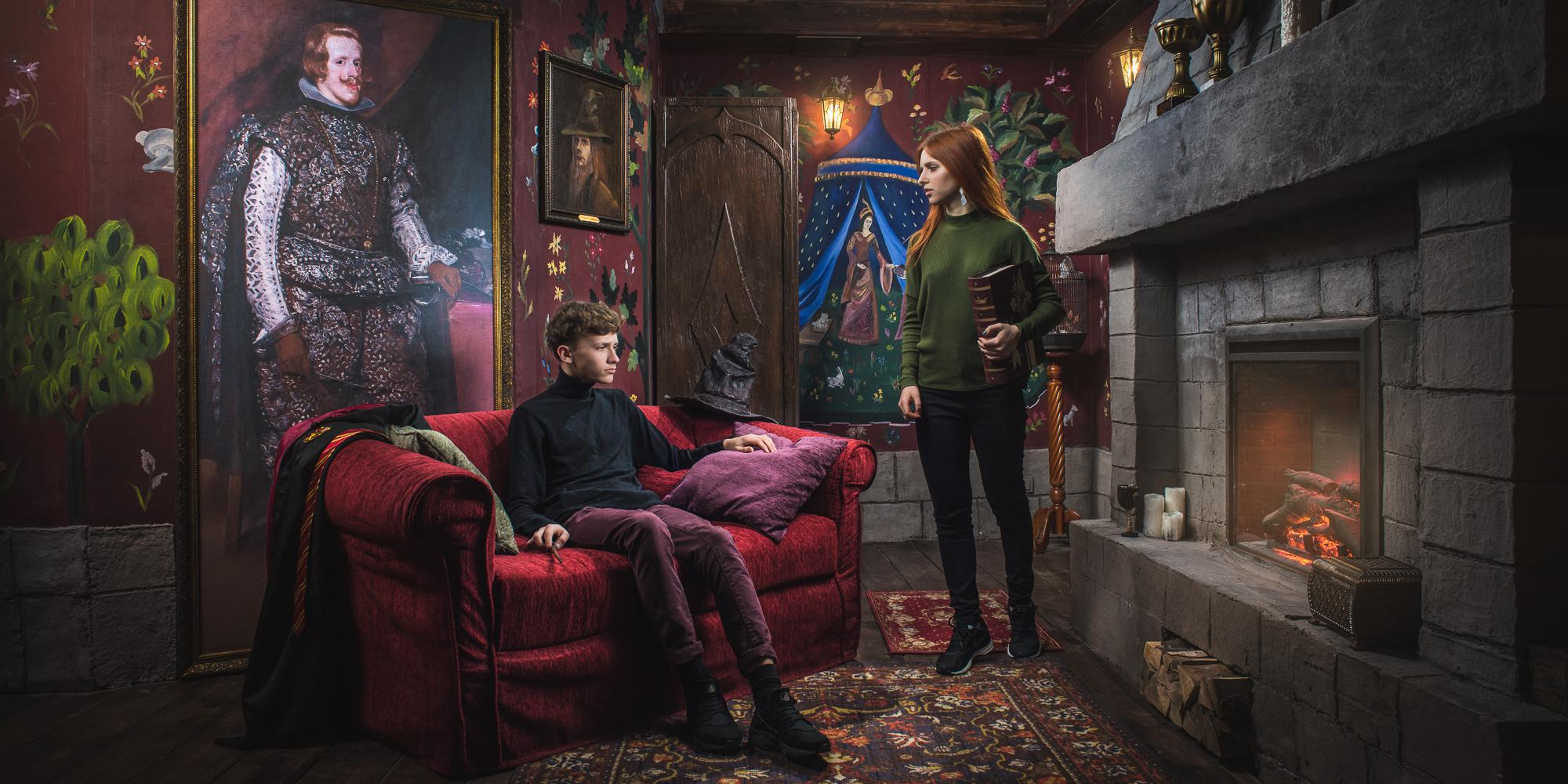 Фотография квеста «The Gryffindor Common Room»
