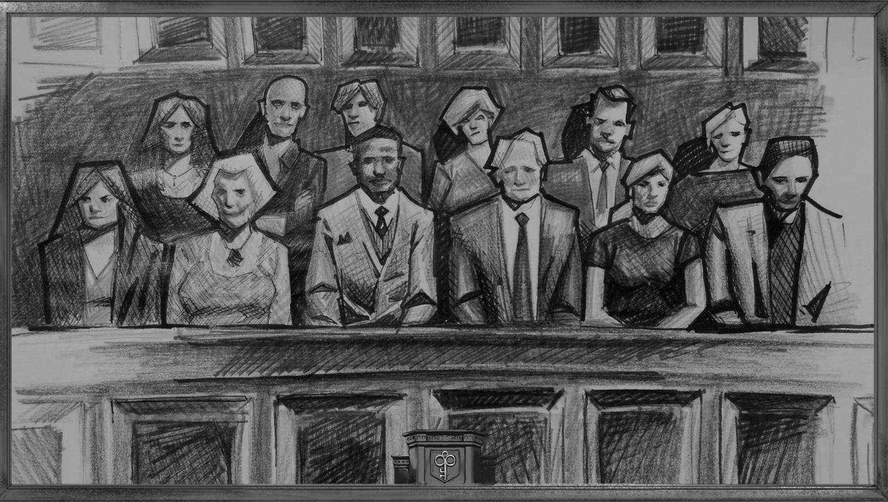 Фотография квеста «Jury»