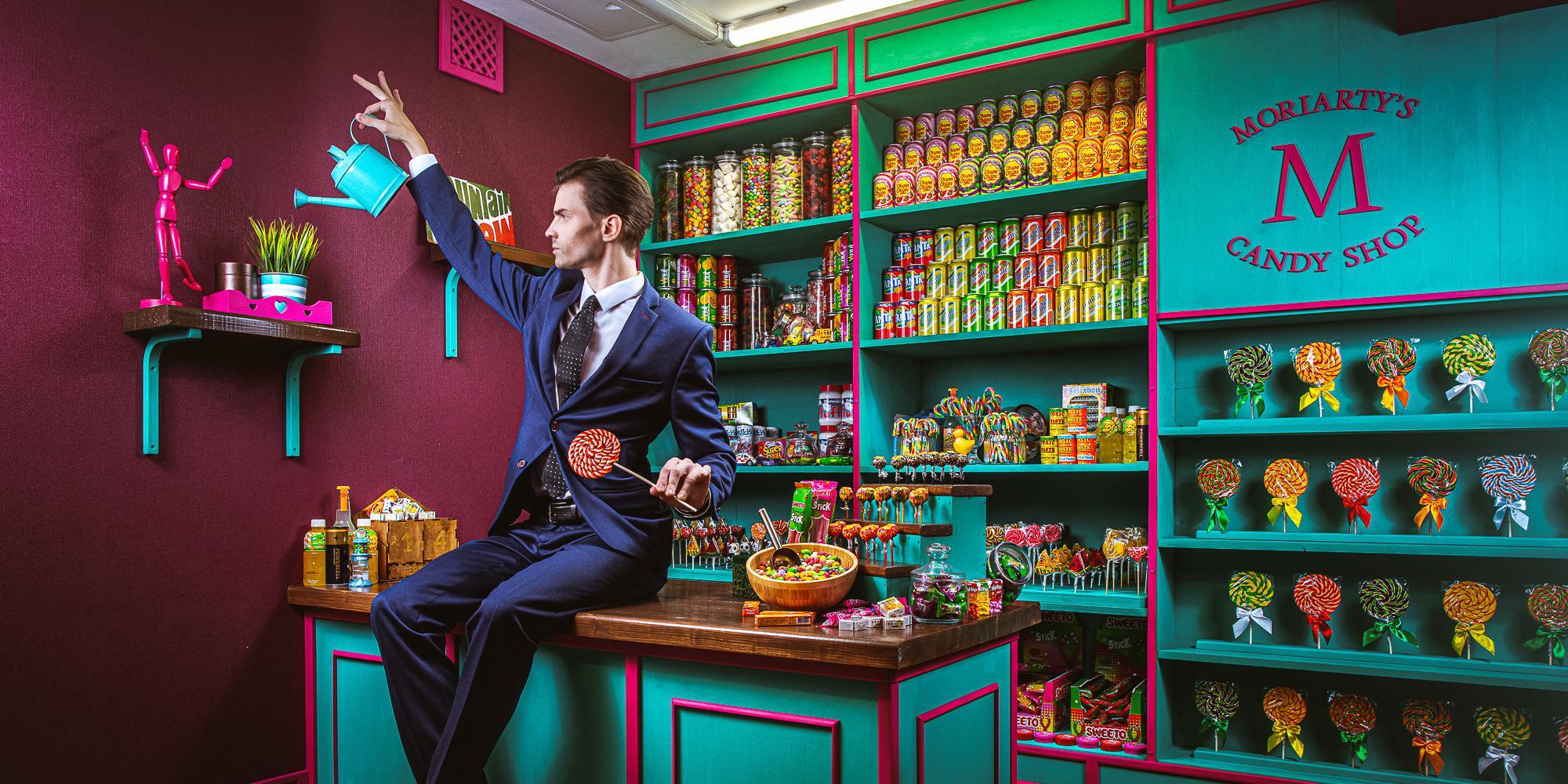 Фотография квеста «Moriarty`s candy shop»