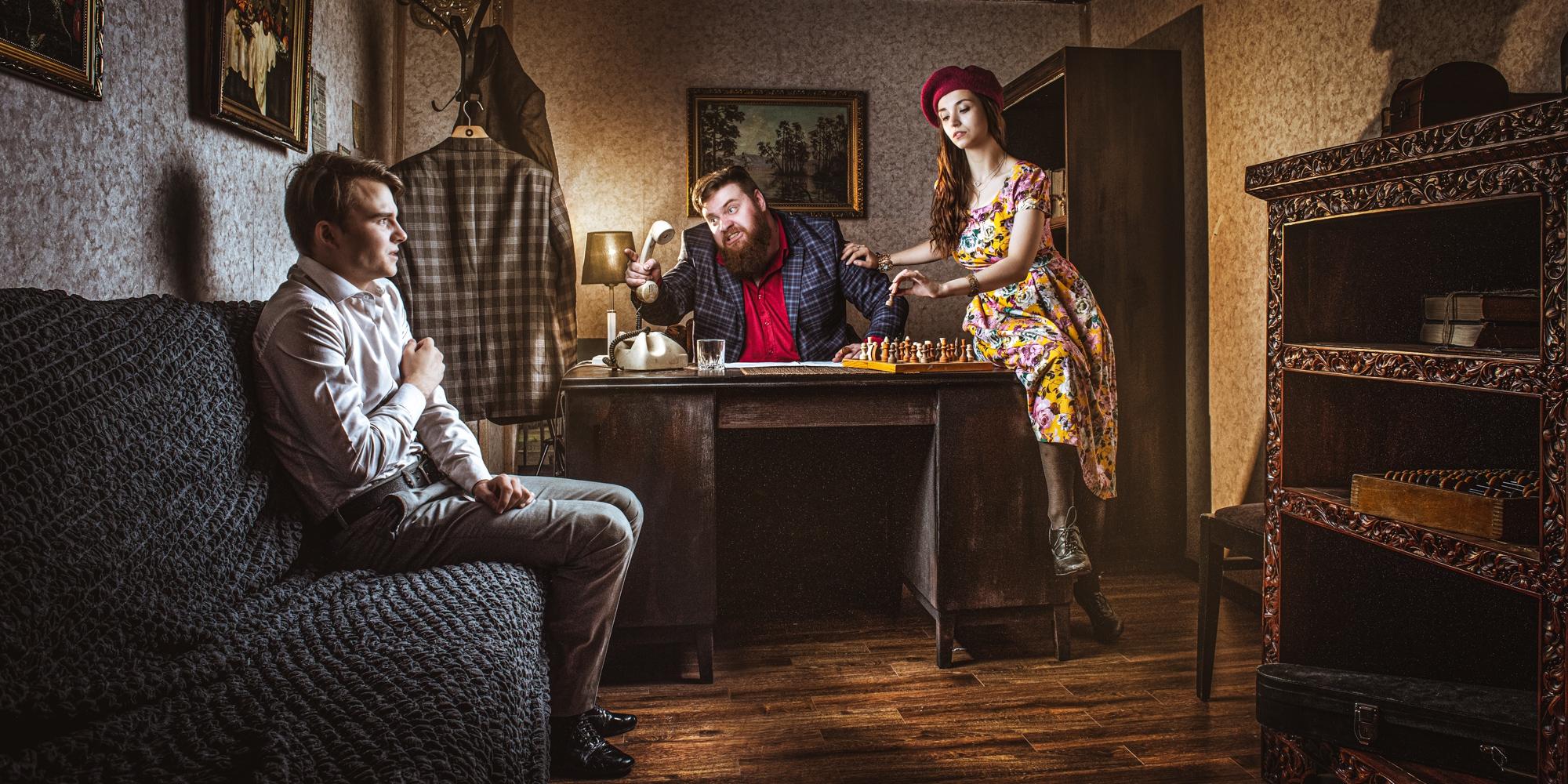 Квест с актерами в Москве Катарсис: Театр начинается с преступления