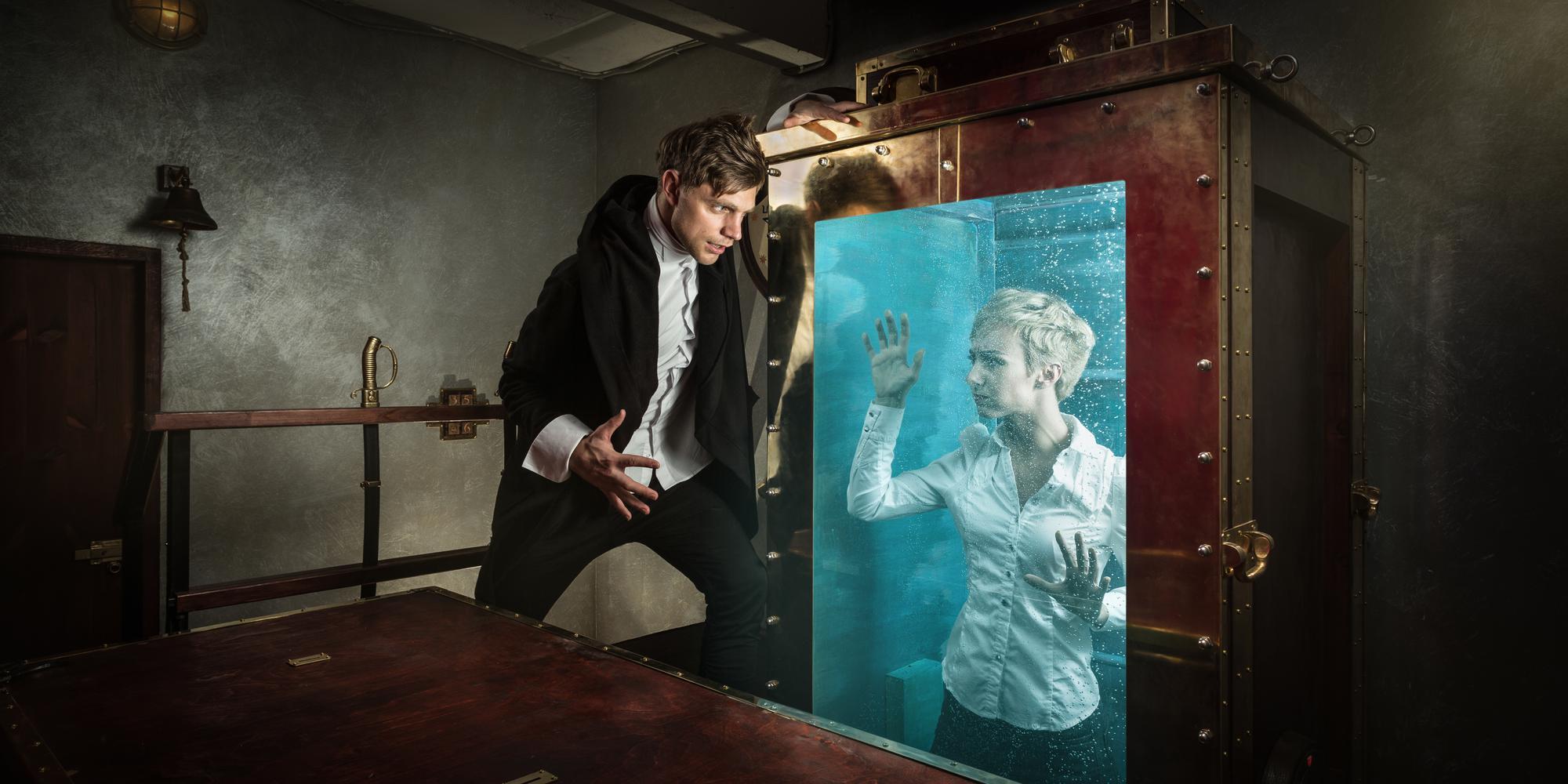 Фотография квеста «Houdini escape»