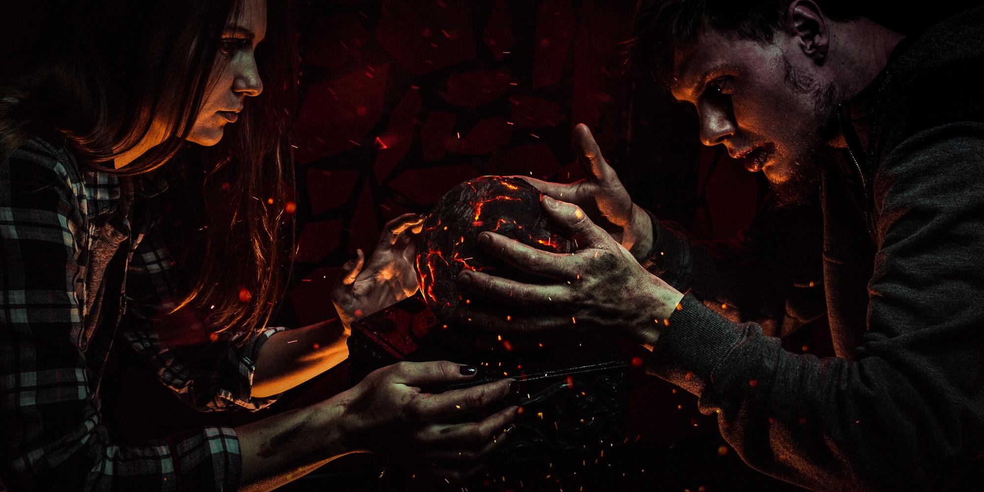 квест с актерами Зло: Легенды темного мира в Москве