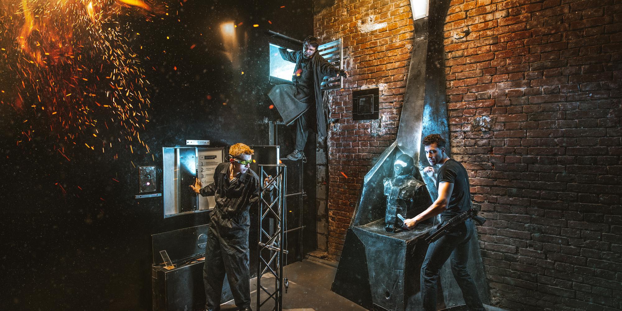 Фотография квеста «Divergent. Stage: Filtering»